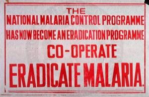 Eradicate Malaria India 1958