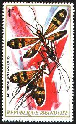 Rwandan stamp