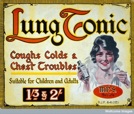 Lung tonic (Wellcome Images)