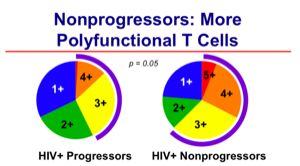 POlyfunctional T cells and HIV progression (Roederer)