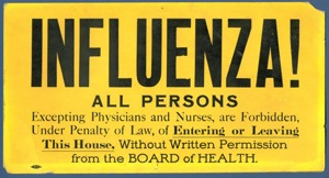 Influenza sign