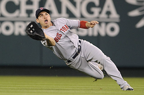 Jacoby Ellsbury diving catch