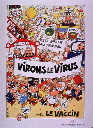Virons le virus (Institut Merieux Benelux, 1991)