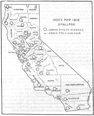 Smallpox in california, 1919